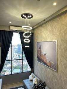 ให้เช่าคอนโด KnightsBridge Prime Sathorn ชั้น 41 ห้องมุม วิวเมืองโล่งๆ อากาศปลอดโปร่ง