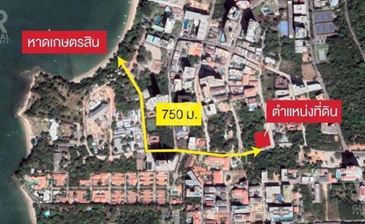 VR Global Property ให้เช่าที่ดิน เมืองพัทยา ชลบุรี 309 ตร.ว. ทำเลดี เพียง 750 ม. จากหาดเกษตรสิน